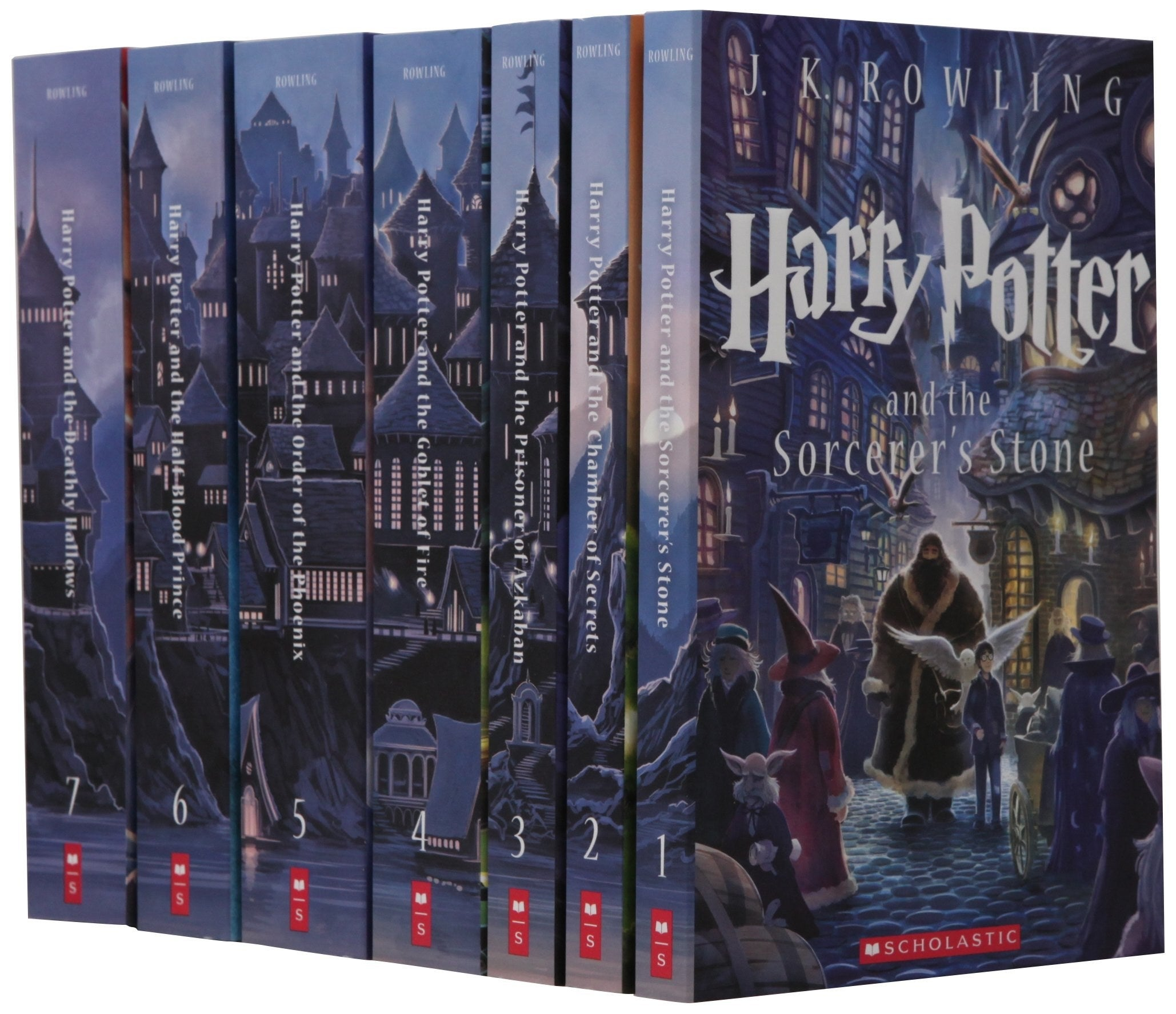 The box set of Harry Potter