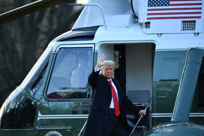 Donald Trump Has Officially Left The White House For The Last Time