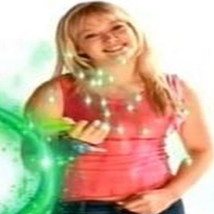 Hilary Duff doing the Disney Channel Wand Thing