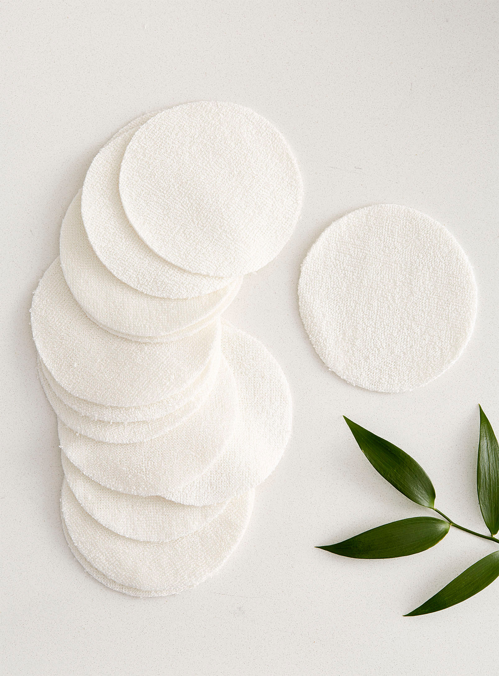 the cotton pads