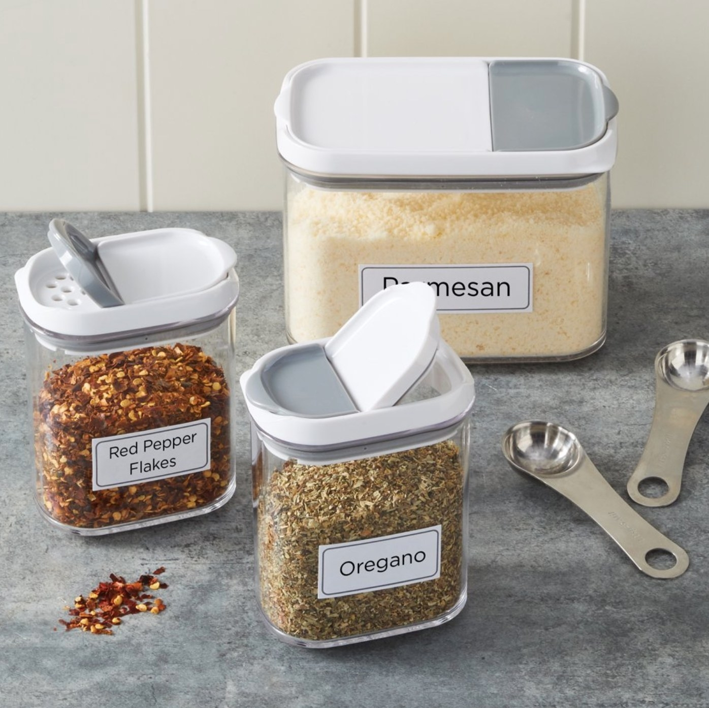 The shaker canister set