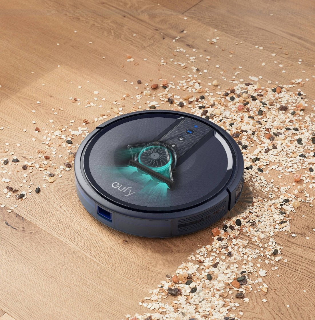 The wifi connected robo vacuum