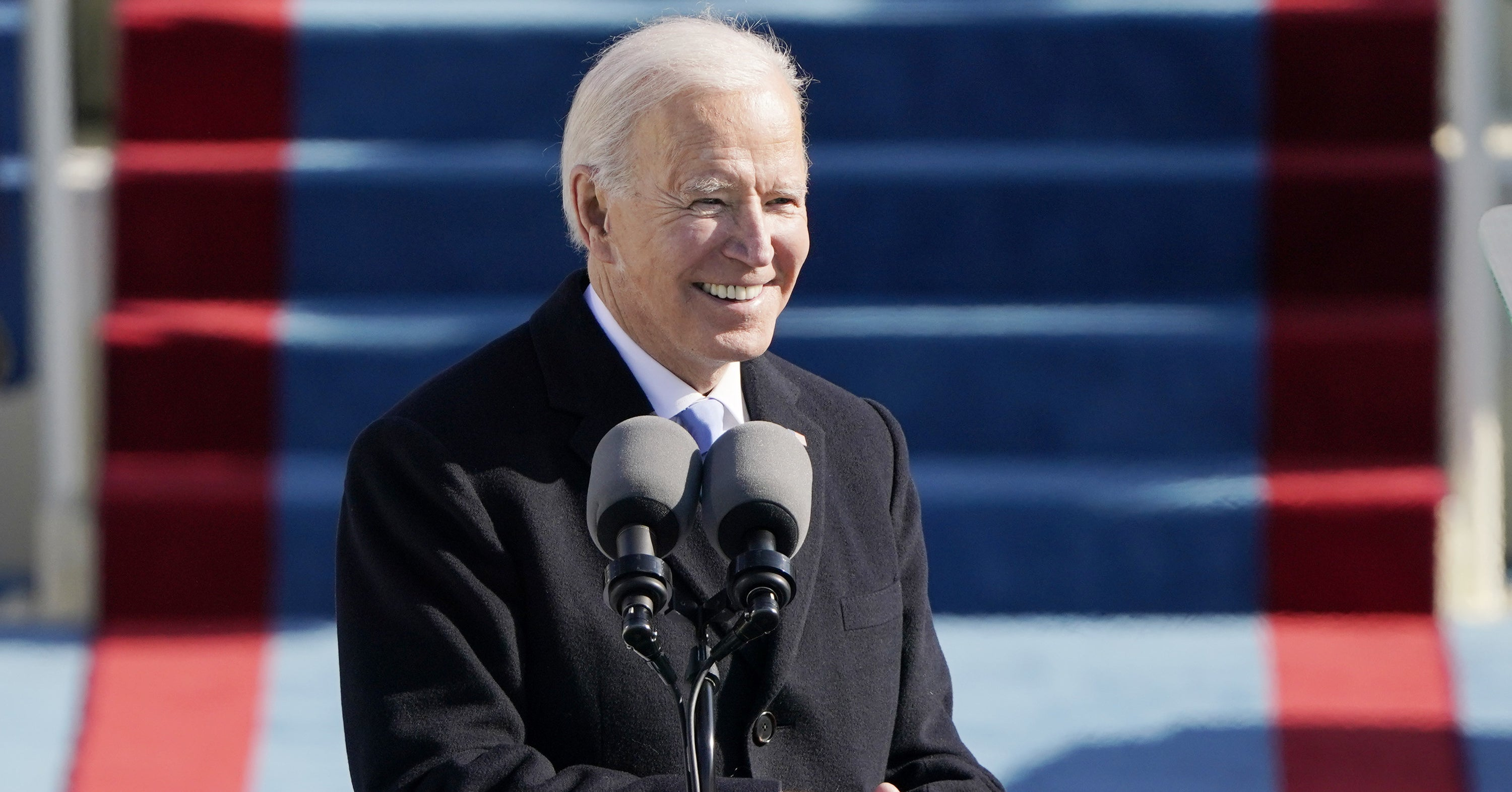 "President Joe Biden Begins With A Plea: ""We Must End This Uncivil War"""
