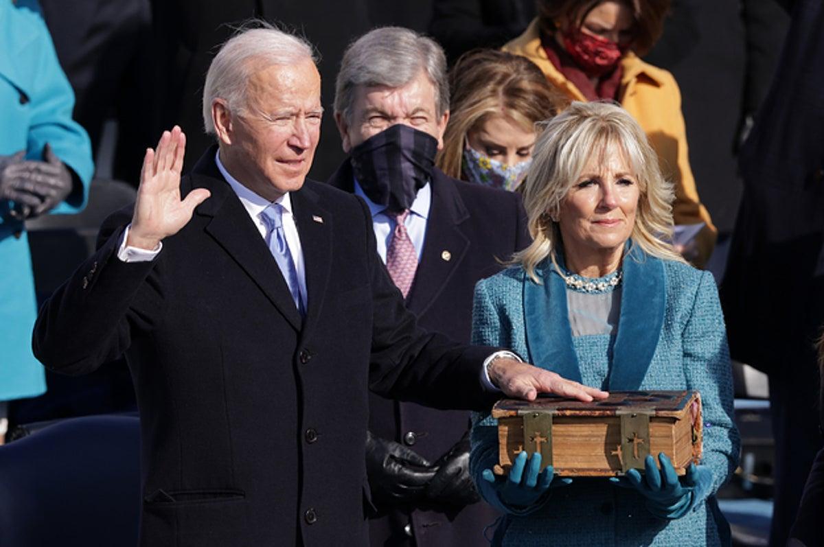 It's President Joe Biden Now