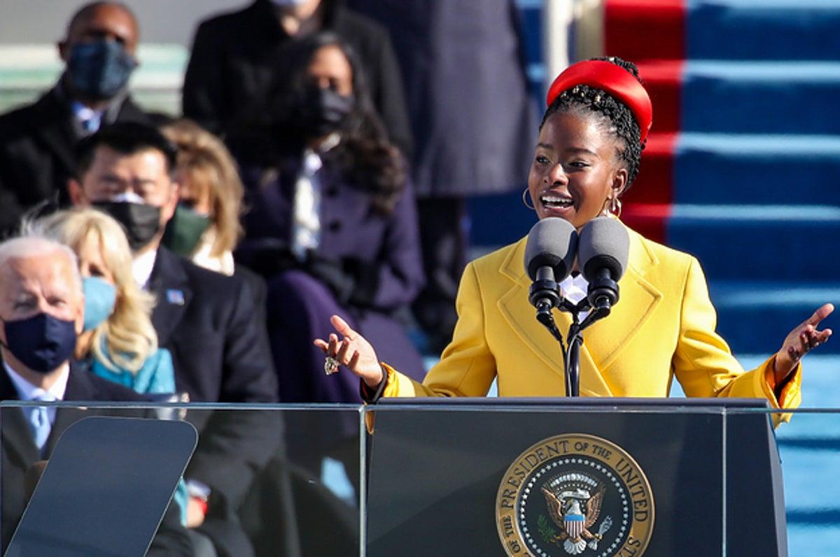 22-Year-Old Poet Amanda Gorman Reads At Inauguration