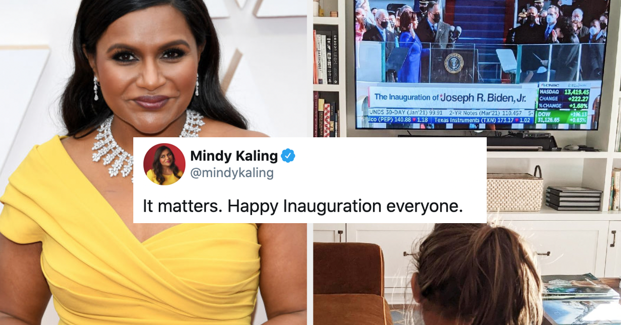 17 Celeb Reactions To Biden And Harris's Inauguration