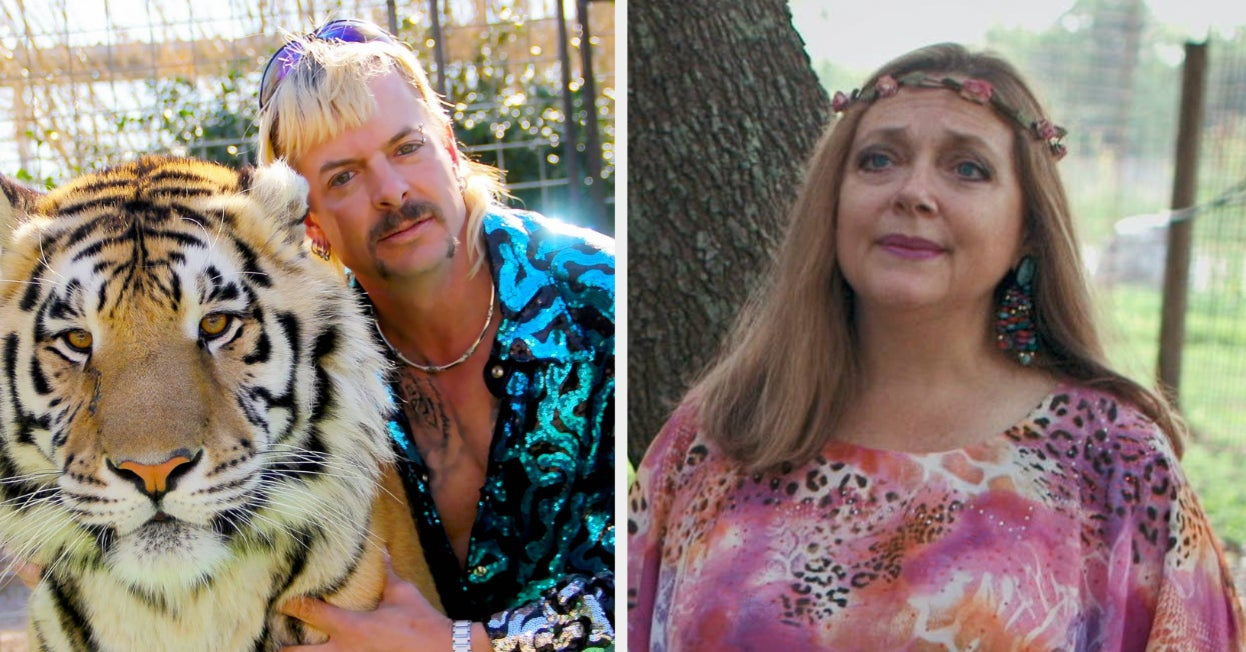 Carole Baskin Is Thrilled Joe Exotic Didn't Get A Trump Pardon