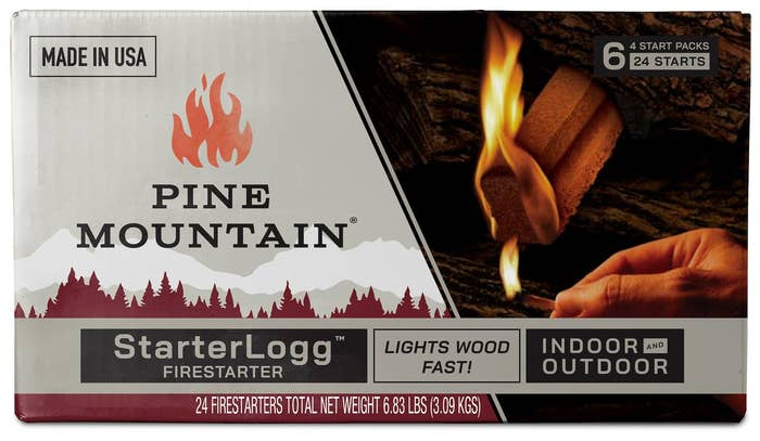 The box of firestarters