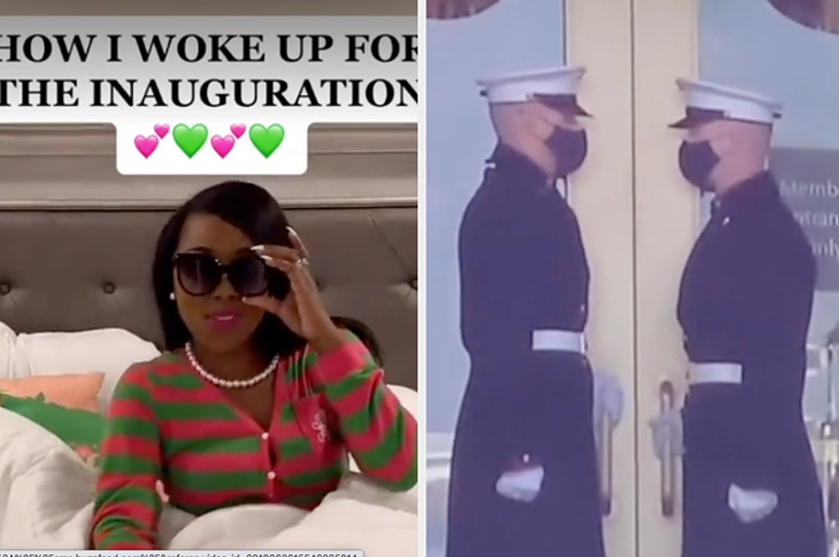TikTok Is Laughing Its Way Through The Inauguration
