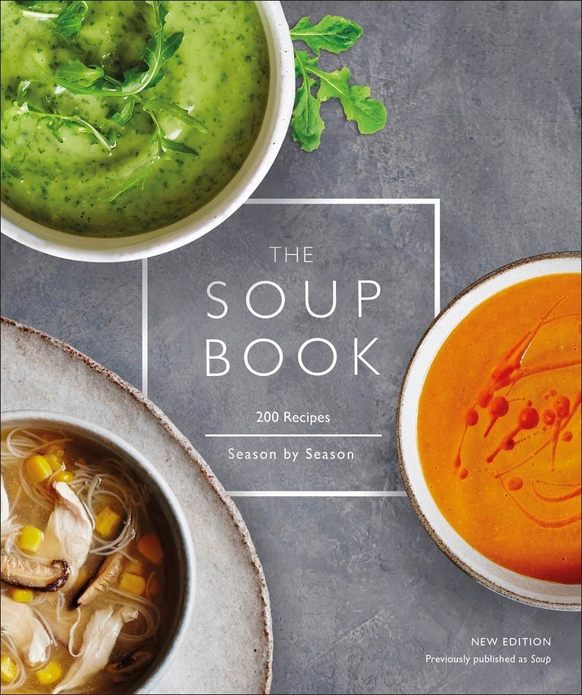 """""""The Soup Book"""" book cover"""