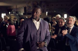 Assane Diop in Lupin