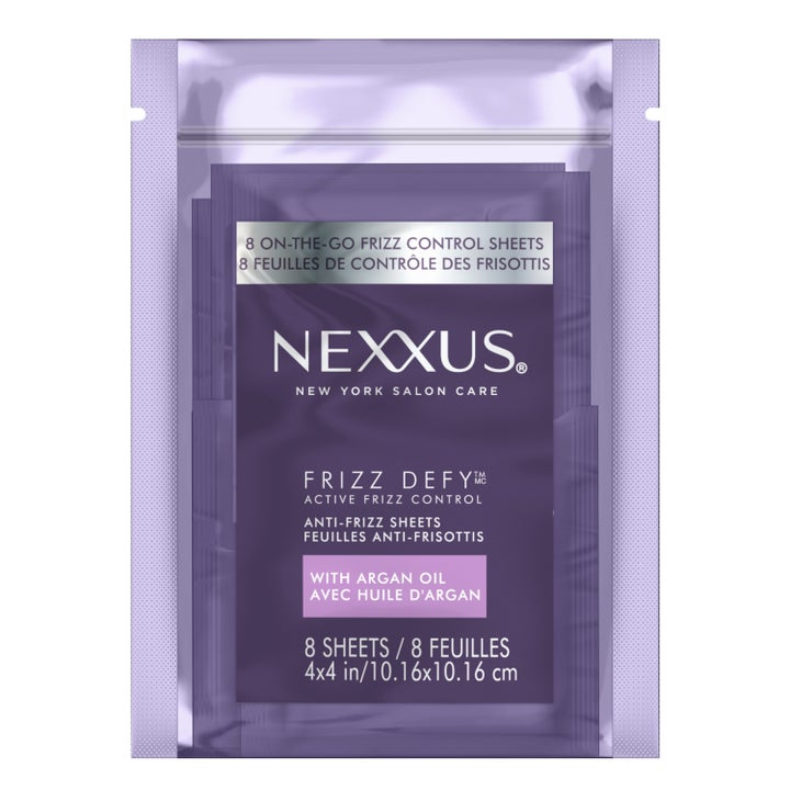 The Nexxus sheets in their packaging