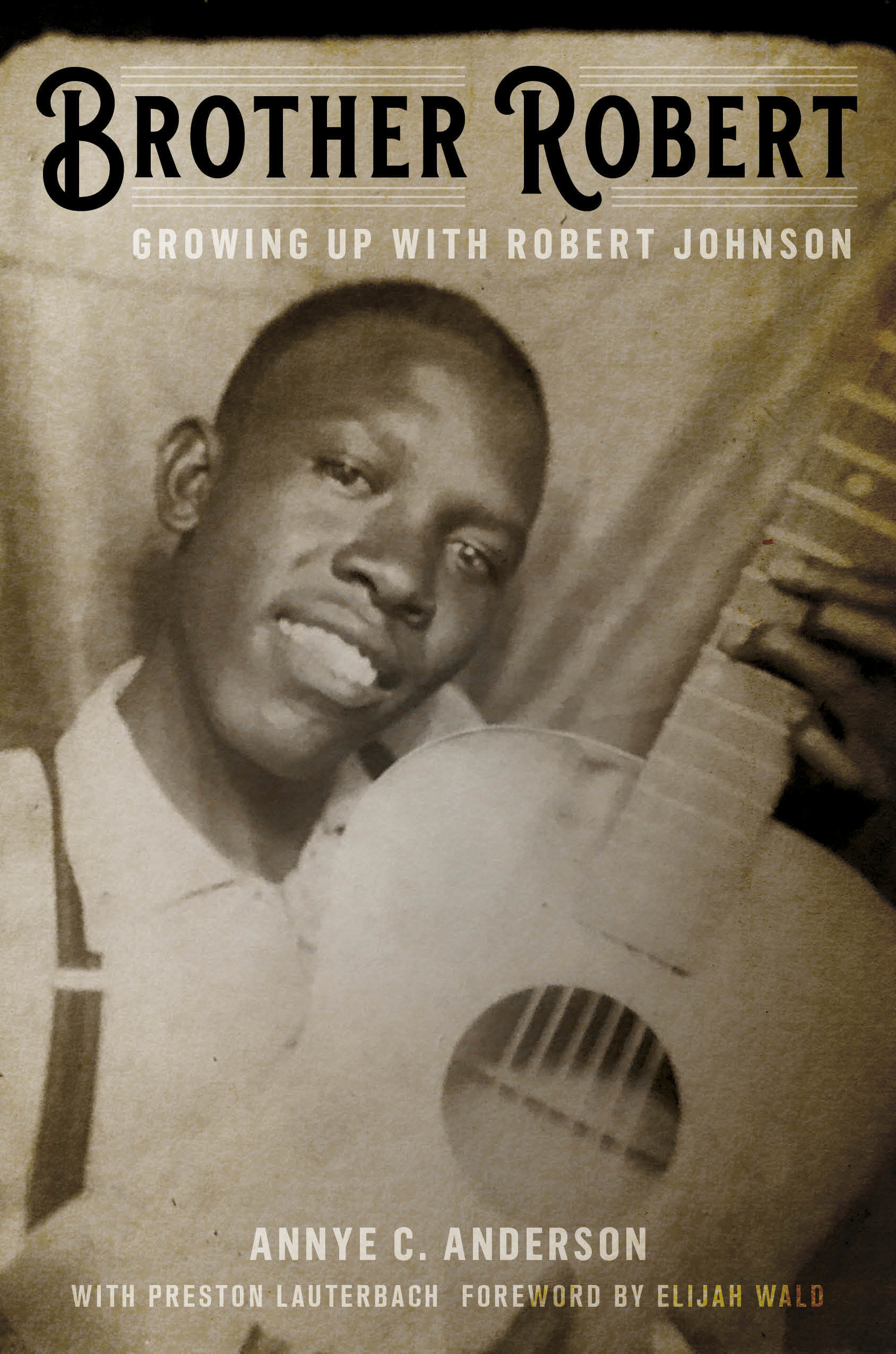 A smiling photo of Robert Johnson