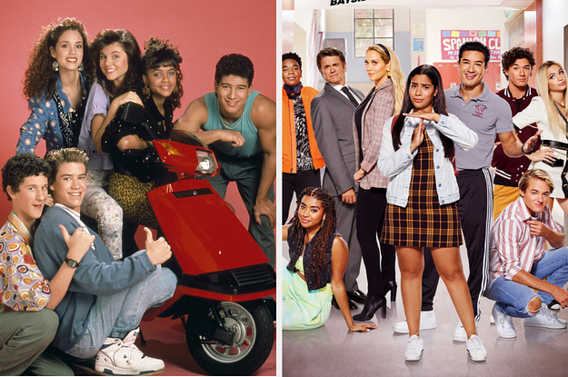 The Cast Of Saved By The Bell Took Our Which Saved By The Bell Characters Are You? Quiz And Now You Can Too