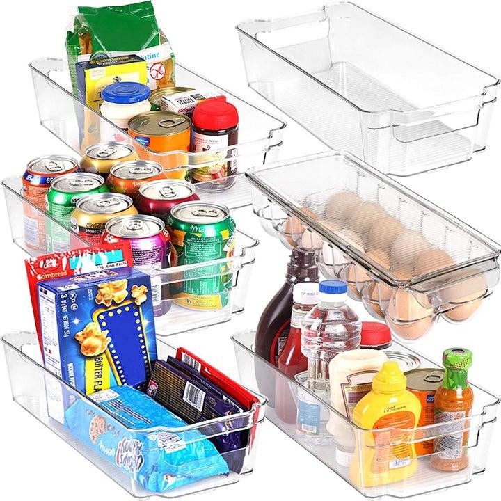 The pantry organization set