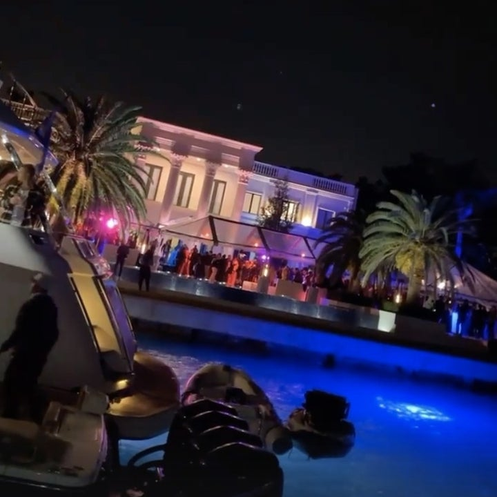 A photo of the mansion where the party occurred