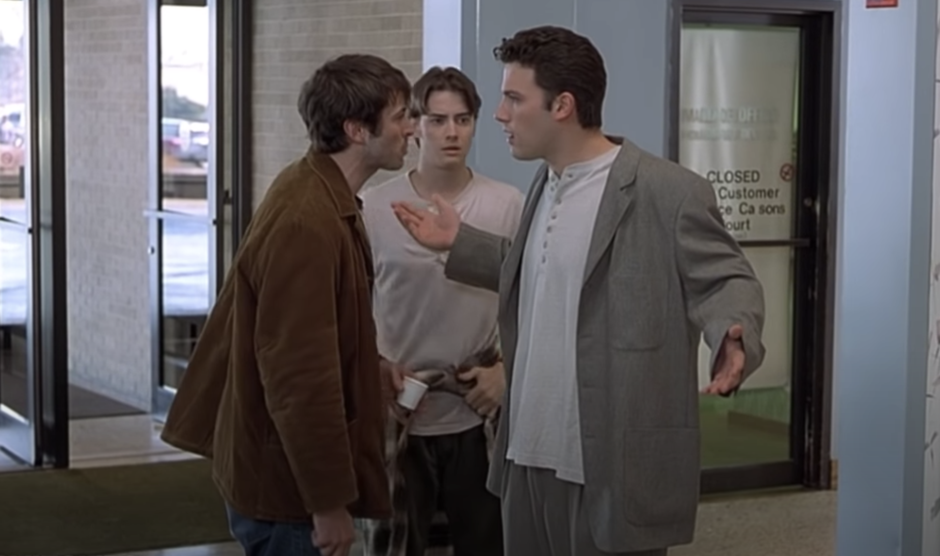Jason Lee and Ben Affleck in Mallrats