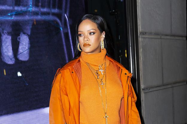 Rihanna Took Out The Trash In Honor Of President Joe Biden's Inauguration And I Gotta Stan