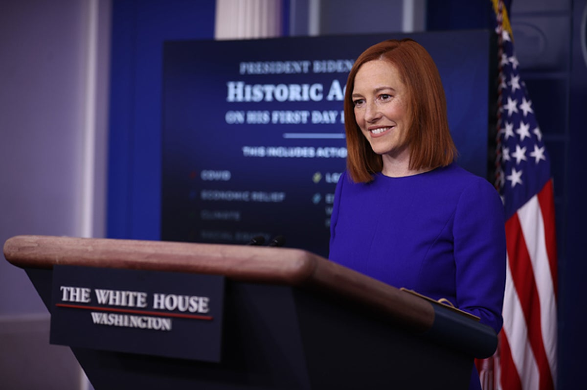 The First White House Press Briefing Of The Biden Presidency Was Extremely Mild