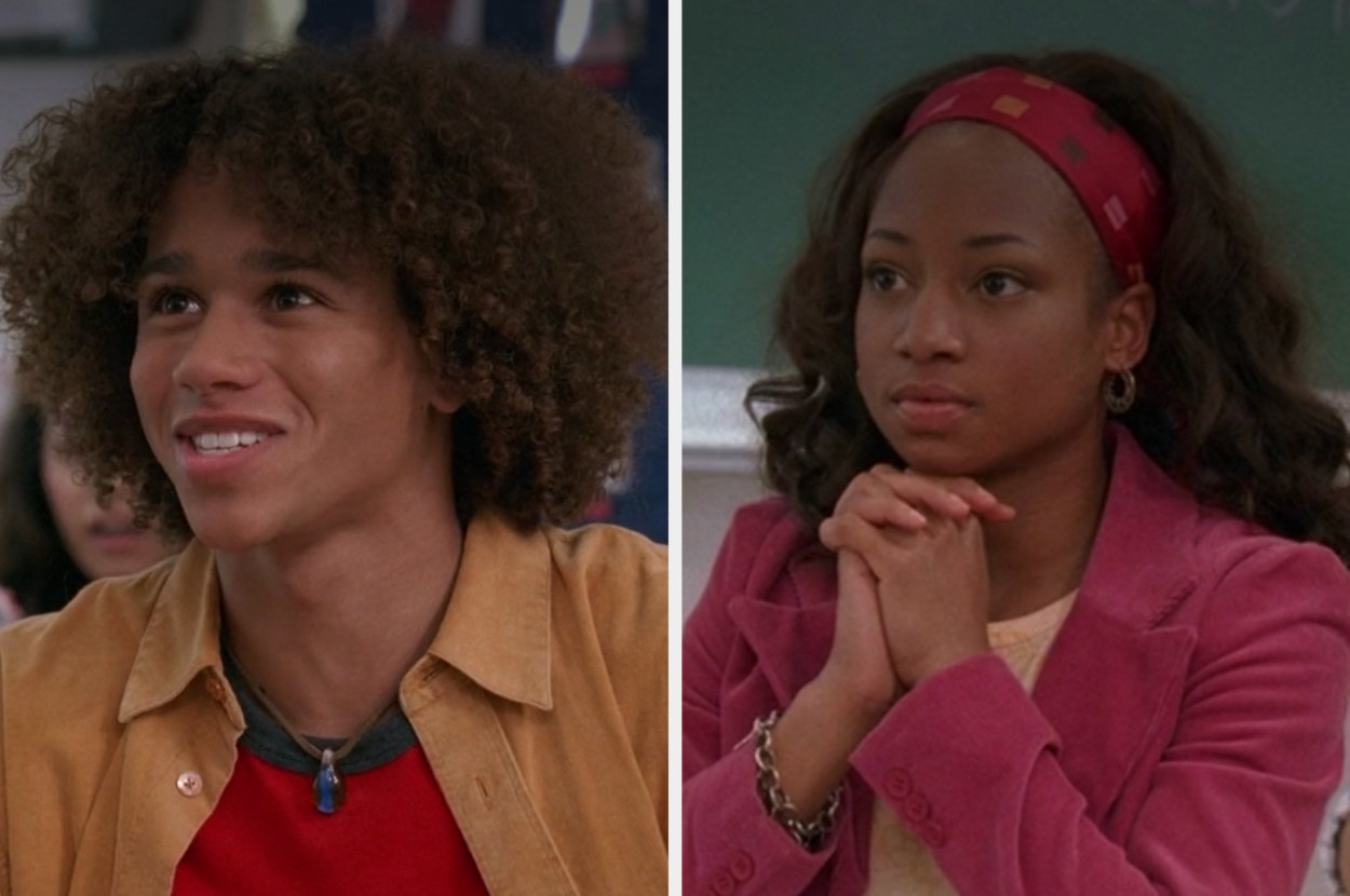 """Side-by-side pictures of Corbin Bleu and Monique Coleman from """"High School Musical"""""""