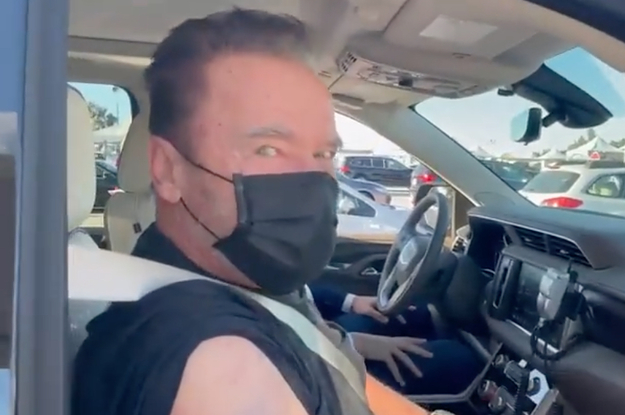 Arnold Schwarzenegger Has One Very Familiar Piece Of Advice To Give After Getting The COVID-19 Vaccine