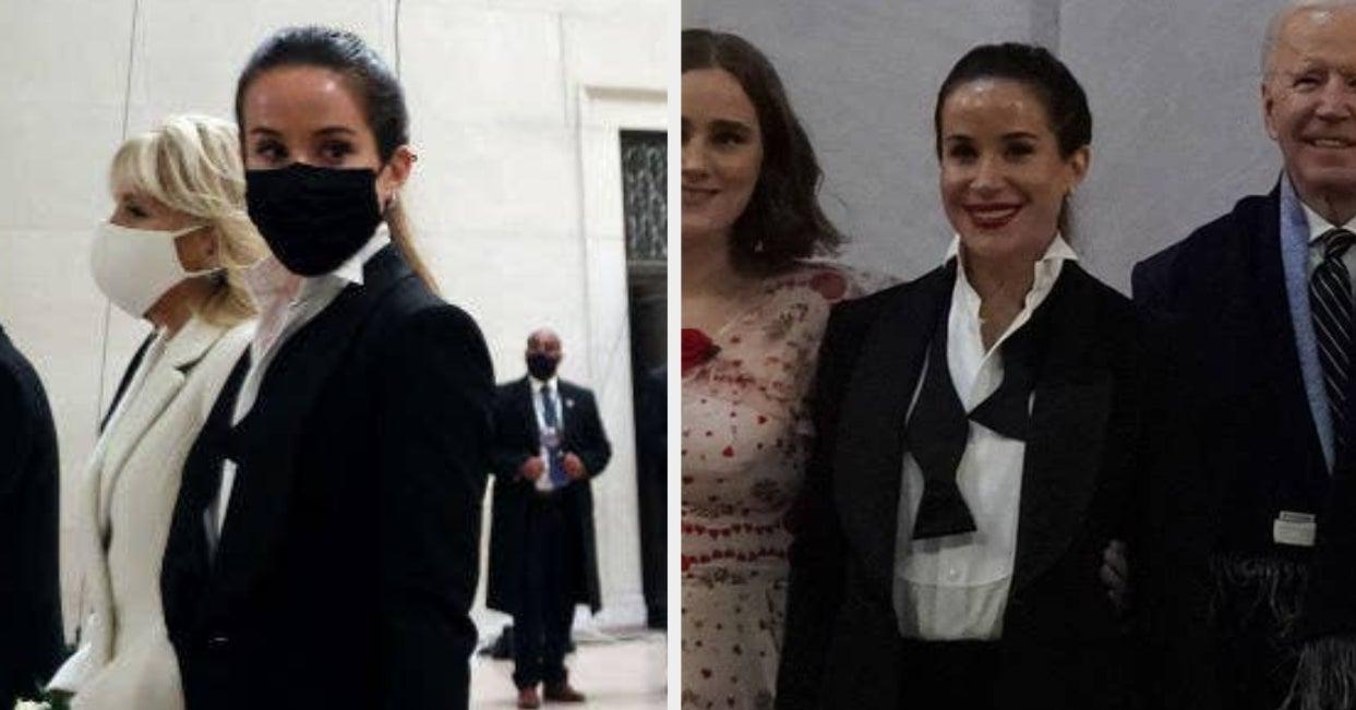 I Obviously Need To Talk About Ashley Biden's Tuxedo