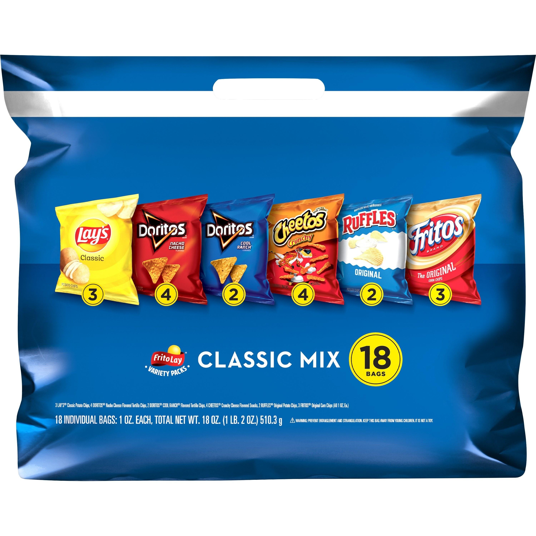bag of frito lay classic mix bag