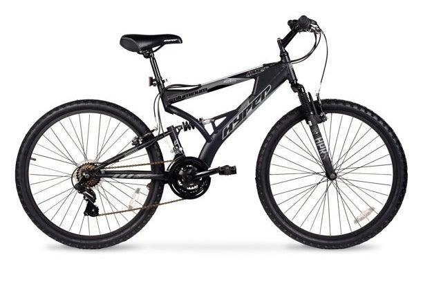 black hyper mountain bike