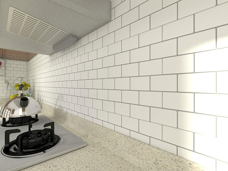tile installed into kitchen