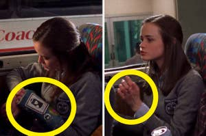 "On ""Gilmore Girls"", Rory has a cast on her hand, and then the cast is gone"
