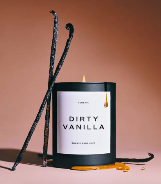 The Dirty Vanilla Candle