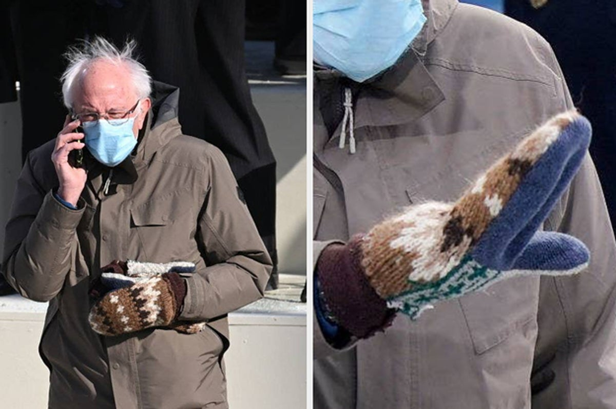 Everyone Is Obsessed With Bernie Sanders Mittens At The Inauguration