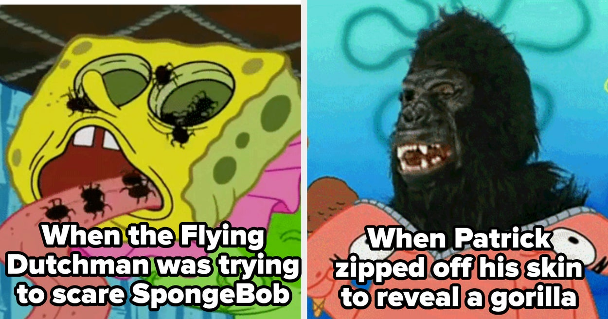 """27 """"SpongeBob"""" Moments That Scarred Us For Life As Kids"""