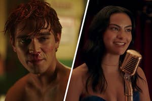 Archie and Veronica in Riverdale