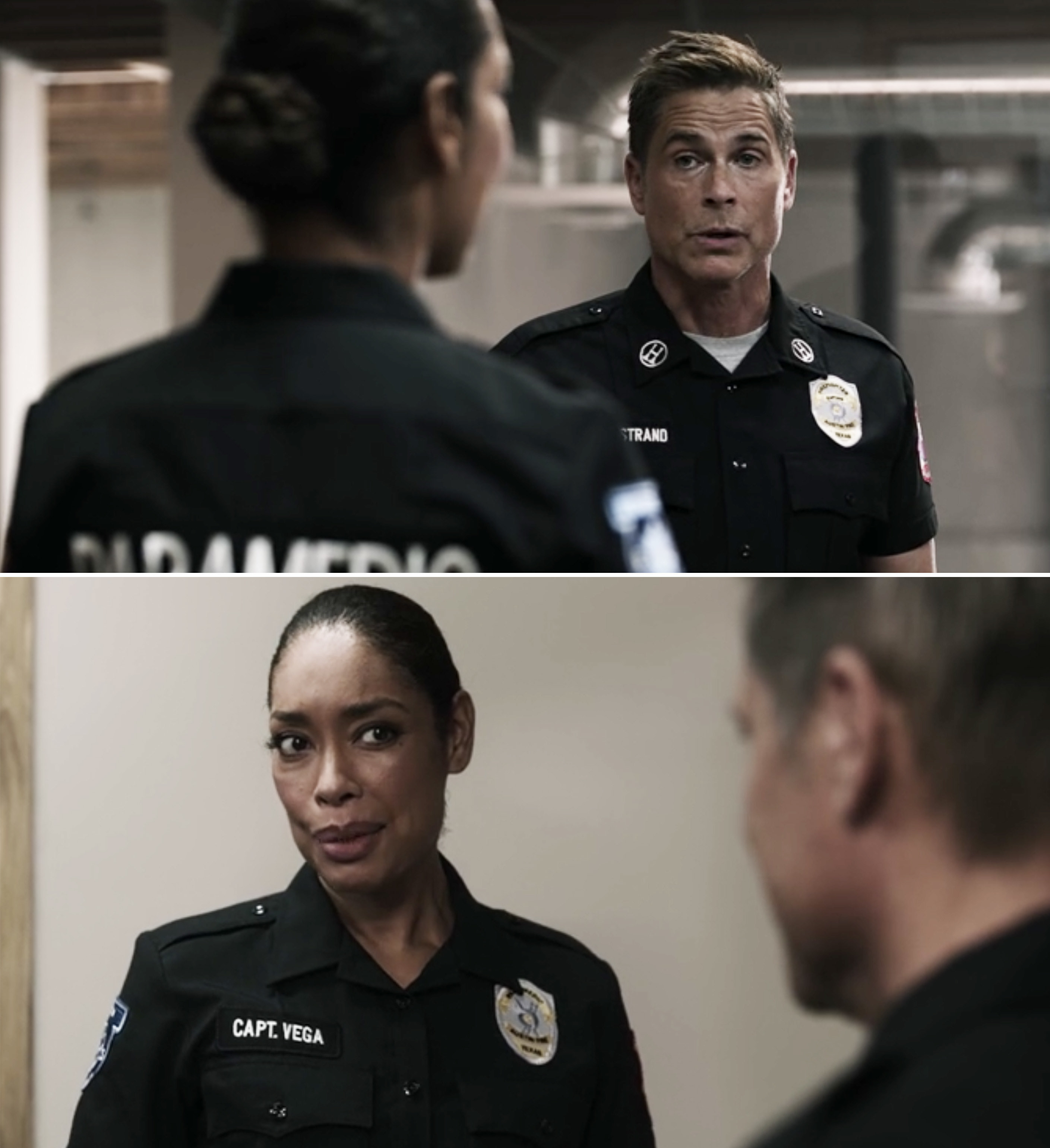 """Rob Lowe and Gina Torres on """"9-1-1: Lone Star"""""""