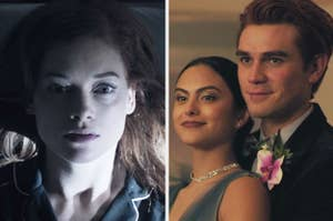 Zoey from Zoey's Extraordinary Playlist and Archie and Veronica from Riverdale