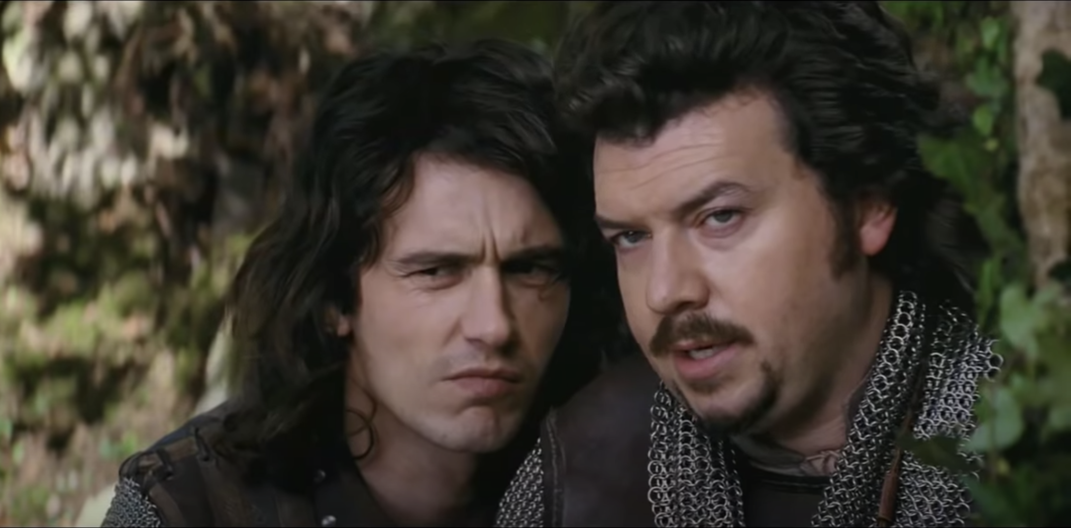James Franco and Danny McBride as two medieval princes in Your Highness