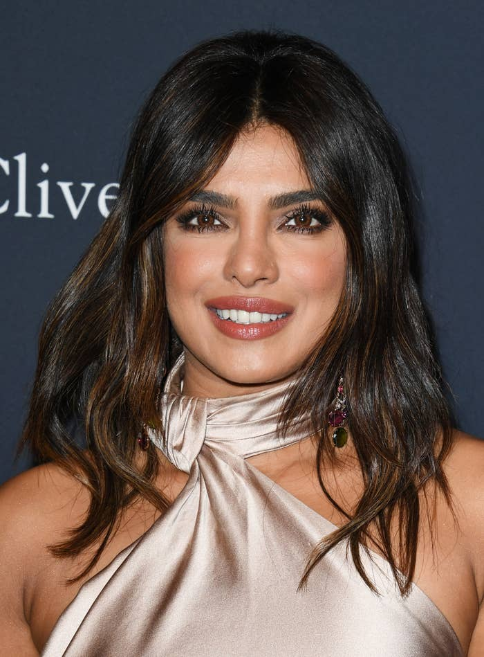 Priyanka Chopra menghadiri Pre-GRAMMY Gala dan GRAMMY Salute to Industry Icons Honoring Sean & quot; Diddy & quot;  Combs di The Beverly Hilton Hotel pada 25 Januari 2020 di Beverly Hills, California