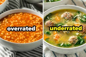 Alphabet soup with