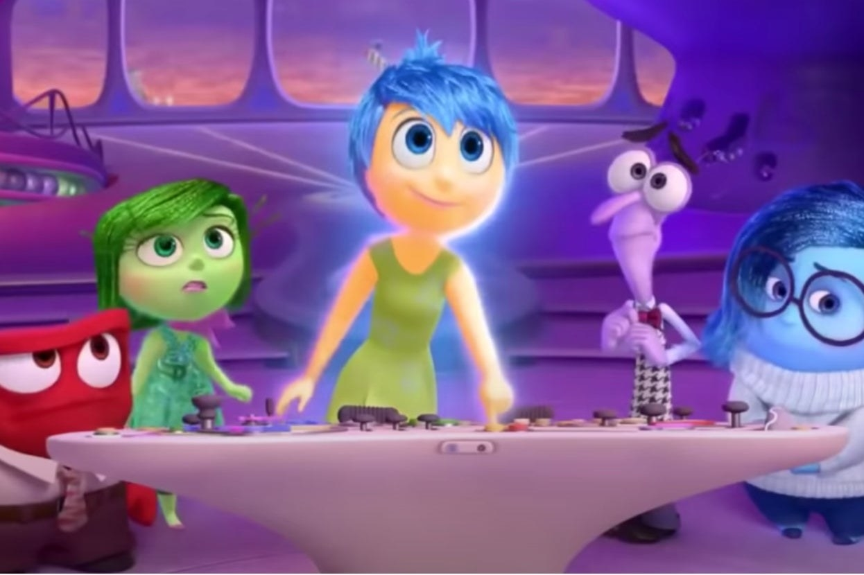 "Emotions in ""Inside Out"""