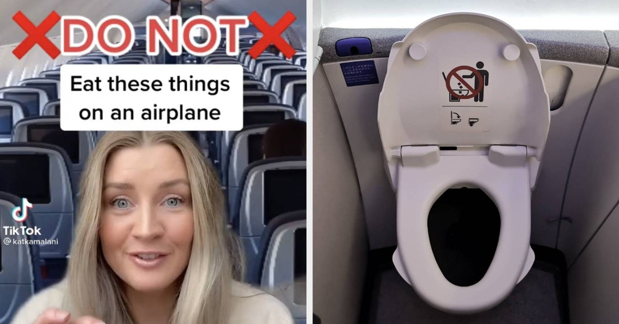 This TikTok Flight Attendant Revealed What You Should Never Drink On A Plane, And It