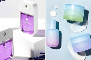 Lavender Touchland Hand Sanitizer; custom Function of Beauty gel, cream, and lotion moisturizers