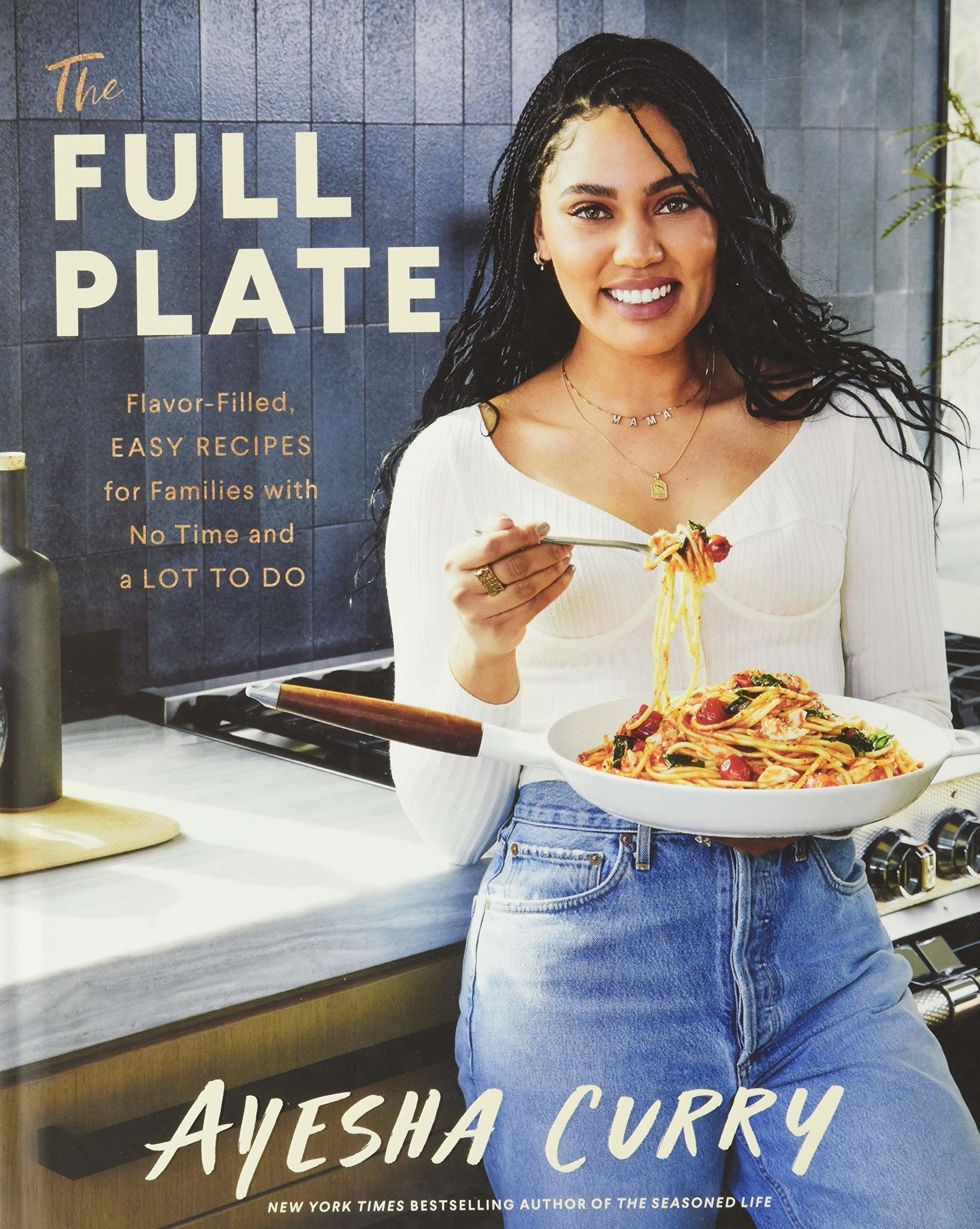 The cover of the book featuring author and chef Ayesha Curry