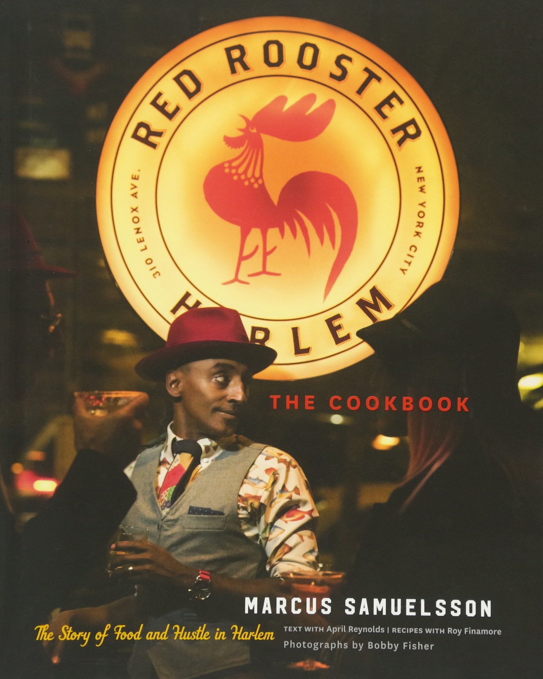 The cover which features author and chef Marcus Samuelsson