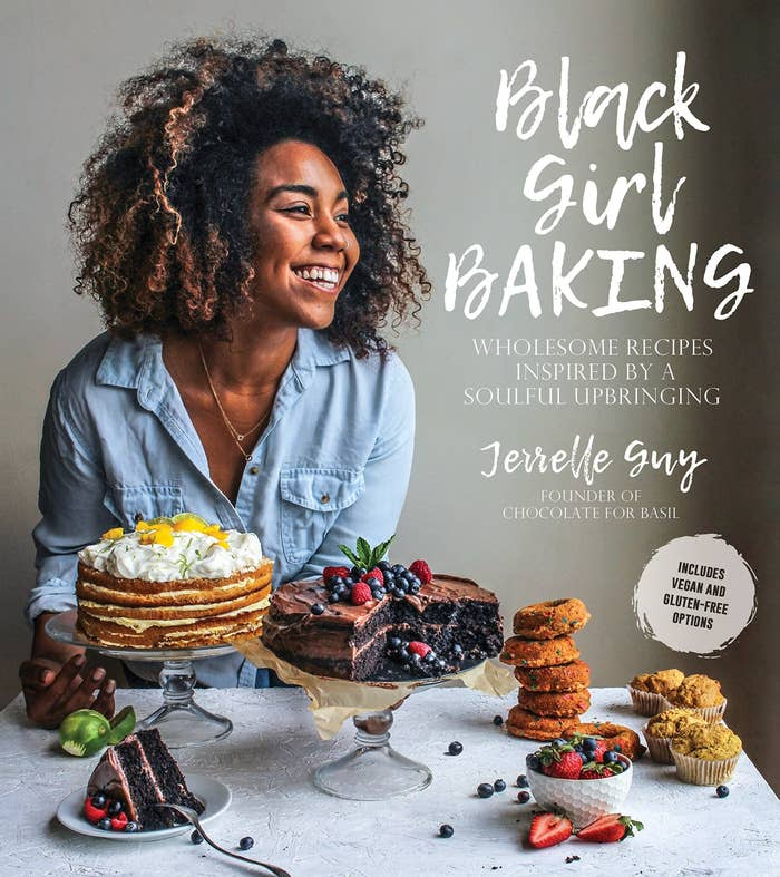 The cover of the book which features author and chef Jerrelle Guy
