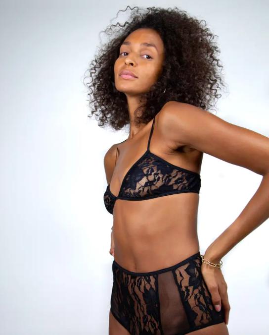 A model wearing the bra