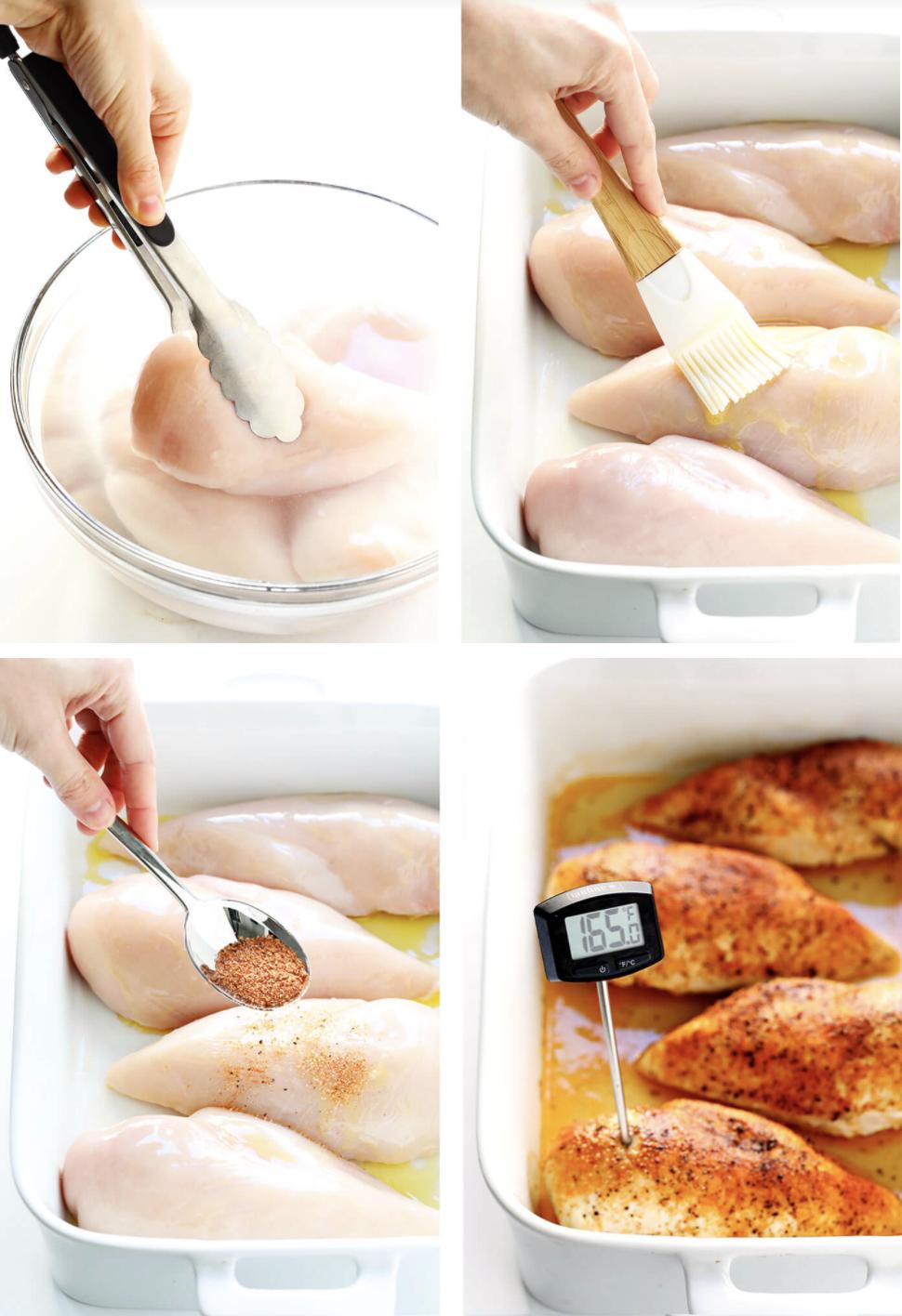 Brining chicken breasts