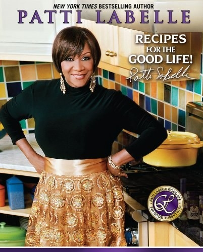 The cover of the book featuring author and chef Patti LaBelle