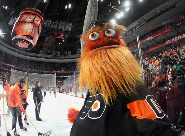 Gritty staring.