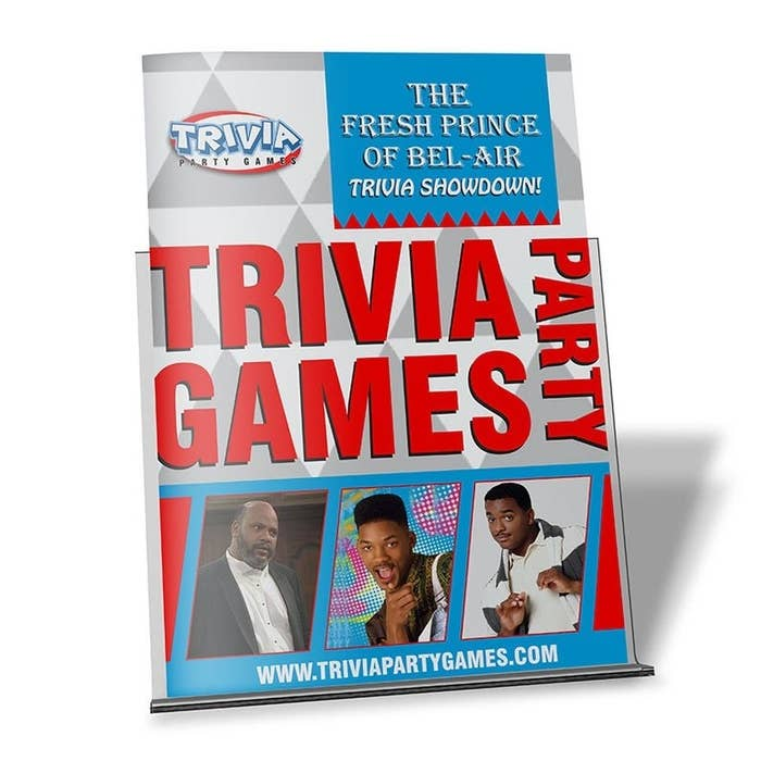 the fresh prince trivia party game